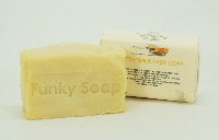 1 PIECE BUTTERMILK BABY SOAP, NATURAL & HANDMADE, APPROX 65G