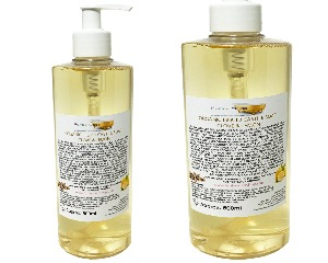 Organic Liquid Castile Soap With Clove & Lemon, 1 Bottle Of 500ml