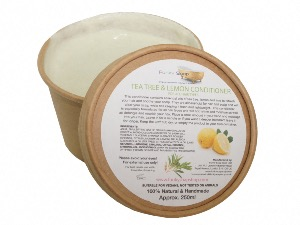 Tea Tree And Lemon Hair Conditioner, Kraft Tub Of 250ml, Plastic Free