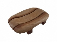 Slotted wooden Soapdish