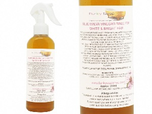 Vinegar Rinse For White/Bright Hair, 100% Natural And Free Of Chemicals, 250ml