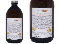 Organic Liquid Castile Soap With Lemon And Lime, 1 Glass Bottle Of 500ml