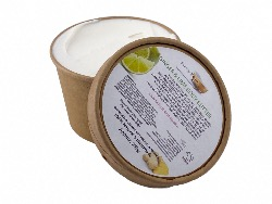 1 Kraft Paper Tub Ginger & Lime Rich Body Butter, Plastic Free, 250g