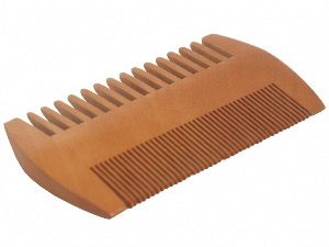 Bamboo Two Sided Beard Comb