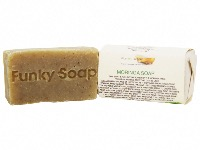 1 PIECE FAIRTRADE AFRICAN MORINGA SOAP, NATURAL & HANDMADE, APPROX 65G