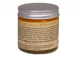 Hydrating Solid Face Balm For Dry/Normal Skin, 100% Pure Sea-buckthorn Oil, 60ml
