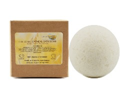 Colloidal Oatmeal Bath Bomb for Sensitive Skin, 5cm Diameter