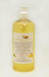 ORGANIC LIQUID CASTILE SOAP WITH LEMON AND LIME 1 BOTTLE OF 500 ML