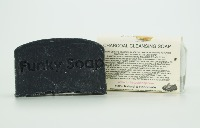 1 PIECE CHARCOAL CLEANSING SOAP, NATURAL & HANDMADE, APPROX 65G