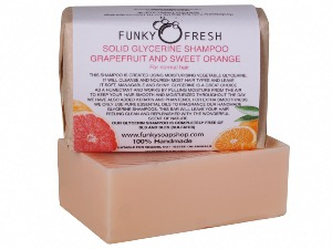 Glycerine Shampoo, Grapefruit & Sweet Orange For Normal Hair , 95g