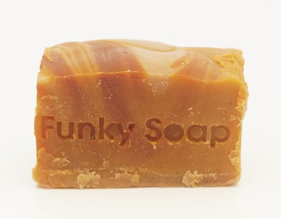 1 PIECE MARULA OIL (AFRICAS MIRICAL OIL) SOAP, NATURAL & HANDMADE, APPROX 120G