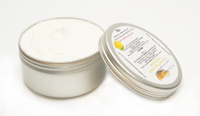 1 TUB COCOA BUTTER AND LEMON HAND CREAM, APPROX. 100G