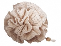 Sisal Flower Scrunchie , 100% Natural Fibres