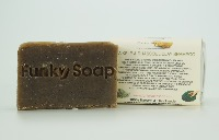 1 PIECE SEA KELP AND RHASSOUL CLAY SOLID SHAMPOO BAR, NATURAL & HANDMADE, APPROX 65G