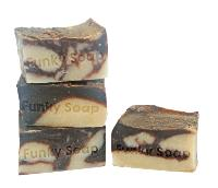 1 PIECE CHOCOLATE & COCONUT MILK SOAP, NATURAL & HANDMADE, APPROX 120G