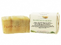Tea Tree & Neem Oil Soap, Natural & Handmade, Approx 120g
