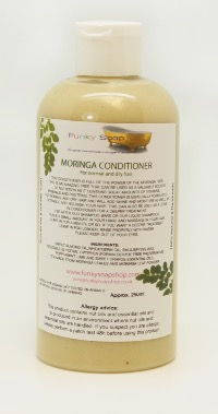 1 BOTTLE  MORINGA HAIR CONDITIONER FOR NORMAL AND DRY HAIR 250ML