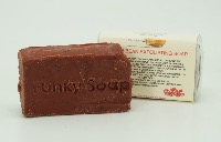 1 PIECE ADZUKI BEAN SOAP, HANDMADE AND NATURAL, APPROX 65G