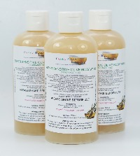 1 BOTTLE LIQUID SUPER SENSITIVE OLIVE BODY WASH HANDMADE &  NATURAL APPROX 250ML