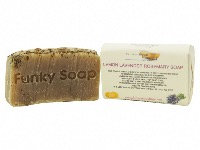 1 PIECE LAVENDER, LEMON & ROSEMARY SOAP, NATURAL & HANDMADE, APPROX 65G
