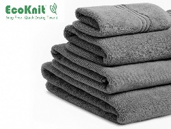 EcoKnit Bath Towel GREY