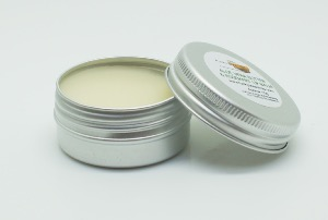 1 TIN OF 15G ALOE VERA BUTTER & ROSEMARY LIP BALM, HANDMADE AND NATURAL