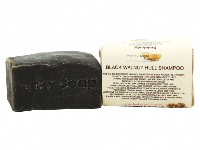 Black Walnut Solid Shampoo Bar For Dark Hair, Natural & Handmade, Approx 120g
