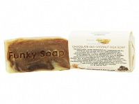 1 PIECE CHOCOLATE & COCONUT MILK SOAP, NATURAL & HANDMADE, APPROX 65G