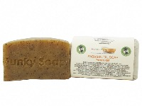 1 PIECE BABASSU OIL SOAP, PALM FREE AND VEGAN, APPROX 65G