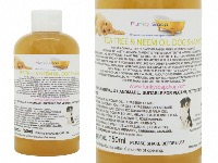Tea Tree And Neem Oil Liquid Dog Shampoo, 100% Handmade & Natural, 1 Bottle Of 150ml