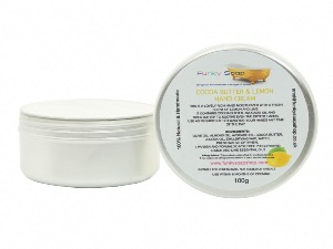 Hand Cream Cocoa Butter And Lemon, 1 Tub Of 100g