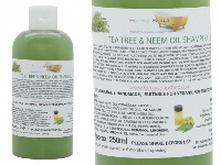 Tea Tree Neem Oil Liquid Shampoo, 1 Bottle of 250ml