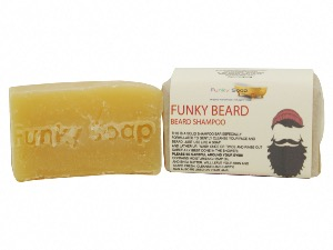 Funky Beard & Body Shampoo,  Approx 120g