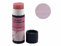 Pink Blossom Tinted Vegan Lip Balm, Biodegradable Cardboard tube, 15g