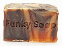 1 PIECE CHOCOLATE & ORANGE SOAP, NATURAL & HANDMADE, APPROX 120G