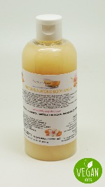 1 BOTTLE LIQUID ARGAN OIL & ALMOND  BODY WASH HANDMADE &  NATURAL APPROX 250ML