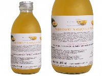 Liquid Sweet Orange & Avocado Shampoo, Glass Bottle of 250ml