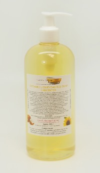 ORGANIC LIQUID CASTILE SOAP UNSCENTED 1 BOTTLE OF 500 ML