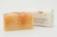 1 PIECE MARULA OIL (AFRICAS MIRICAL OIL) SOAP, NATURAL & HANDMADE, APPROX 65G