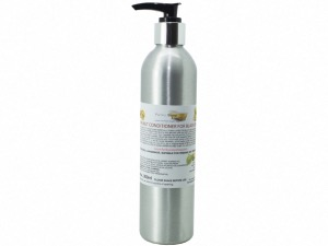 Black Walnut Conditioner For Black/Brown Hair, Refillable Aluminium Bottle, 300ml
