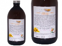 Organic Liquid Castile Soap Unscented, Glass Bottle of 500ml