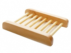 Hemu Wood Ladder Soapdish