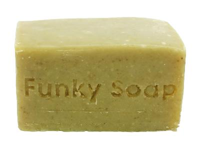 1 PIECE FAIRTRADE AFRICAN MORINGA SOAP, NATURAL & HANDMADE, APPROX 120G