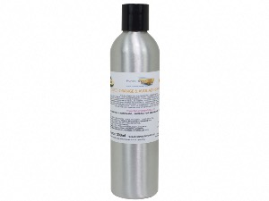 LIQUID SWEET ORANGE & AVOCADO SHAMPOO, REFILLABLE ALUMINIUM BOTTLE, APPROX 300ML