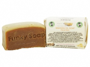 Babassu Oil Soap, Palm Free And Vegan, Approx 120g