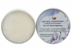 100% Natural Deodorant Lavender & Rosemary, 1 Tub Of 70g