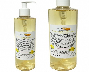Organic Liquid Castile Soap With Lemon And Lime, 1 Bottle Of 500ml