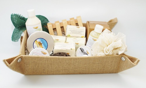 1x LUXURY FUNKY SOAP GIFT BASKET
