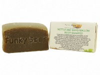 Nettle And Marshmallow Root Solid Shampoo Bar,  Natural & Handmade, Approx. 65g