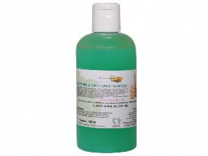 Antiseptic Hand Sanitizer, with Menthol & Mint, Drop Bottle 150ml